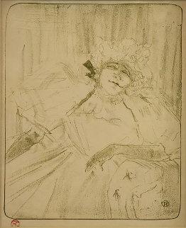 Yvette Guilbert Chanson Ancienne Limited Edition Print - Henri Toulouse-Lautrec