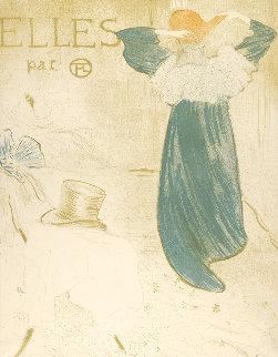 Elles Limited Edition Print - Henri Toulouse-Lautrec