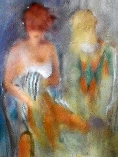 Ecole De Ballet 2 2002 Limited Edition Print - Janet Treby