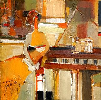 Untitled Paintings, Set of 3  16x16 Original Painting - Yuri Tremler
