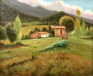 Landscape 32x28 Original Painting -  Trillo
