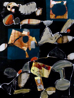 Abstraction (Study) 1995 35x27  Original Painting by Ernest Trova