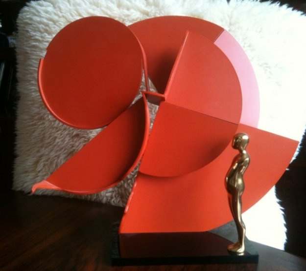 Profile Canto IV Bronze Sculpture 1987 Sculpture by Ernest Trova