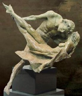 Whisper Bronze Sculpture 24 in Sculpture by Nguyen Tuan
