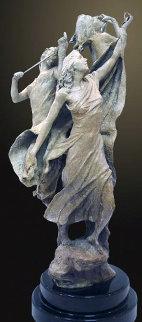 Triumph Bronze Sculpture 34 in  Sculpture by Nguyen Tuan