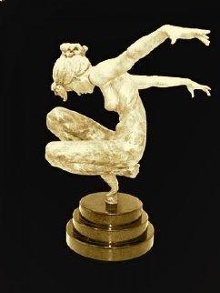 Tranquility Bronze Sculpture 2003 31 in Sculpture by Nguyen Tuan