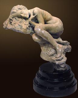 Serenity Bronze Sculpture 2000 30 in Sculpture - Nguyen Tuan