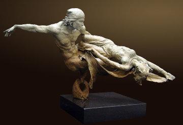Rendezvous Bronze Sculpture 1999 Sculpture - Nguyen Tuan