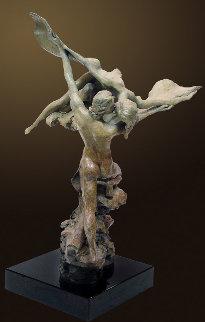 Heaven And Earth Bronze Sculpture 1999 25 in Sculpture by Nguyen Tuan