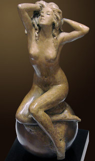 Spring Bronze Sculpture 2011 15 in Sculpture - Nguyen Tuan