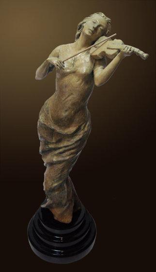 Muse Bronze Sculpture 2010 26 in Sculpture by Nguyen Tuan