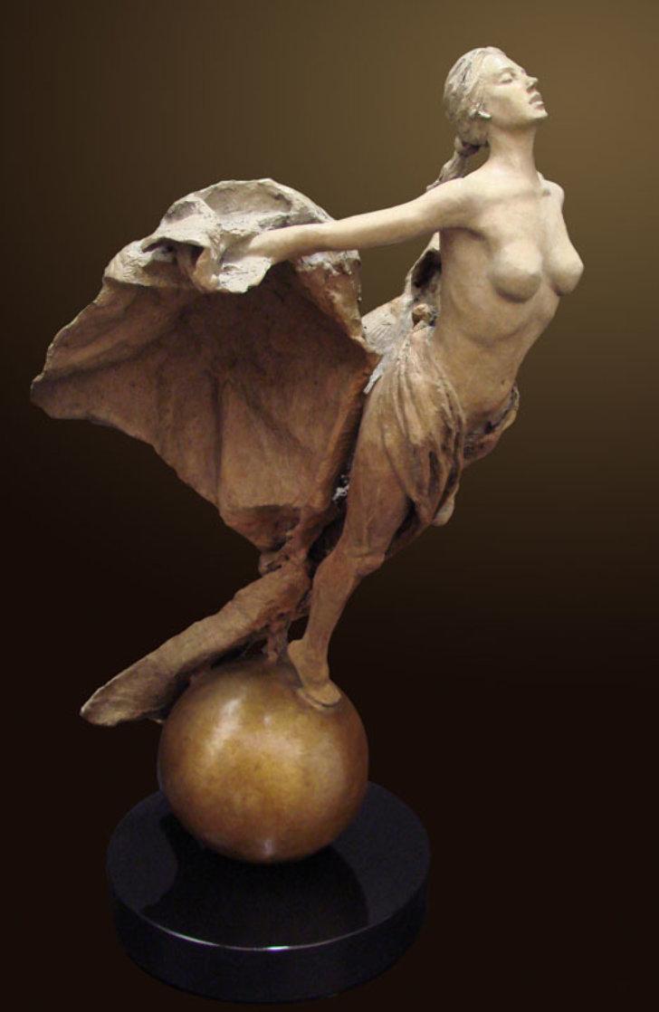 Rebirth Bronze Sculpture 2010 34 in Sculpture by Nguyen Tuan