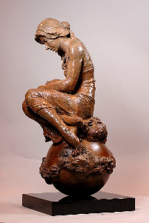 Quench Bronze Sculpture 2015 35 in Sculpture - Nguyen Tuan