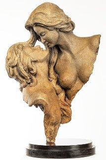 l'Une Bronze Sculpture 2015 24 in Sculpture by Nguyen Tuan