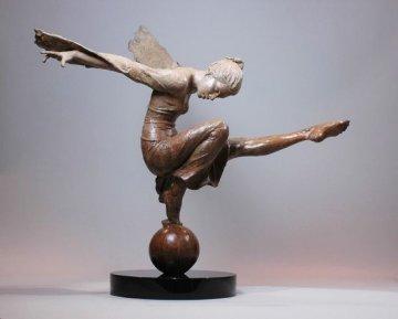 Celestial  Bronze Sculpture  2013 38 in Sculpture by Nguyen Tuan