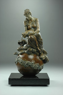 Aquarius Bronze Sculpture 2015 15 in  Sculpture - Nguyen Tuan