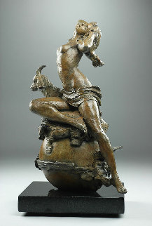 Capricorn Bronze Sculpture 2015 15 in Sculpture by Nguyen Tuan