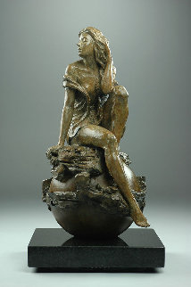Virgo Bronze Sculpture 2015 15 in  Sculpture - Nguyen Tuan