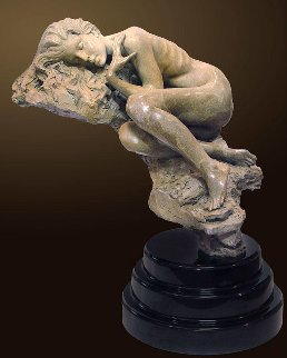 Serenity Bronze Sculpture AP 2000 30 in Sculpture - Nguyen Tuan