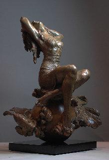 Tethered Bronze Sculpture 2014 35 in Sculpture - Nguyen Tuan