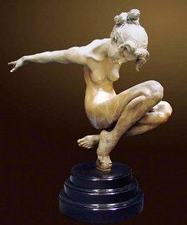 Tranquility Bronze Sculpture 2003 27 in Sculpture - Nguyen Tuan