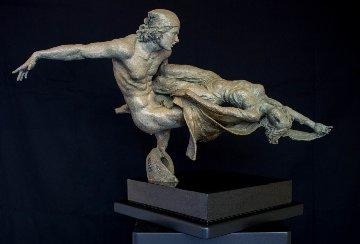 Rendezvous Bronze Sculpture 2005 26 in Sculpture by Nguyen Tuan
