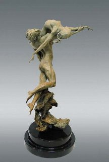 Rhapsody Bronze Sculpture 2000 25 in Sculpture by Nguyen Tuan