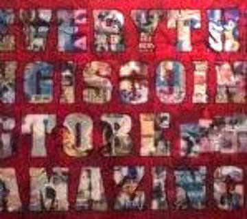 Everything is Going to Be Amazing 72x96 Original Painting - Peter Tunney