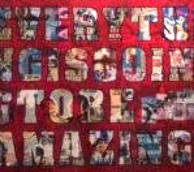 Everything is Going to Be Amazing 72x96 Original Painting by Peter Tunney