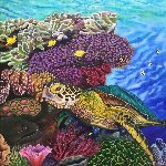 Honu 2017 Limited Edition Print - Rosemary Vasquez Tuthill