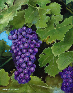 Grape Harvest 2017 Limited Edition Print - Rosemary Vasquez Tuthill