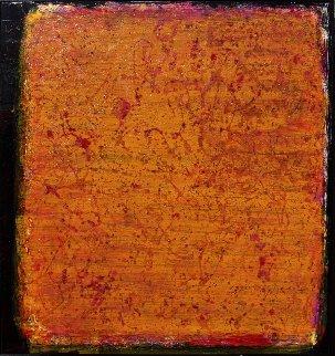 Tesco Orange Marmalade Jar/Unopened 2011 52x49 Original Painting by Palo Klein Uber