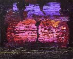 Forgotten Choos 2015 24x30 Original Painting - Palo Klein Uber