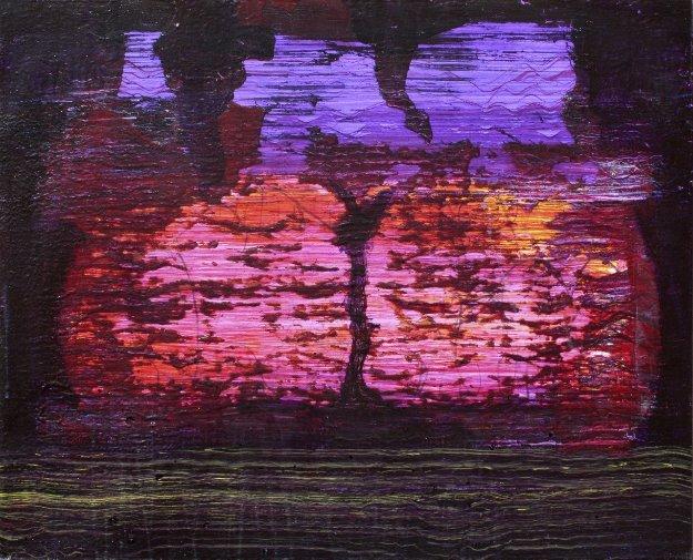 Forgotten Choos 2015 24x30 Original Painting by Palo Klein Uber