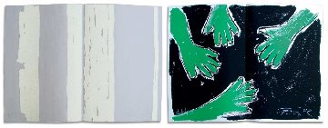 Das Buch Hiob, Suite of 47 2007 Limited Edition Print by Gunther Uecker