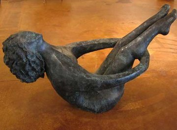 Joy of Life Life Size Bronze Sculpture 2005 66 in Sculpture - David Unger