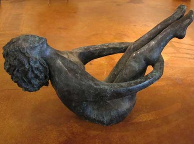 Joy of Life Life Size Bronze Sculpture 2005 66 in Sculpture by David Unger