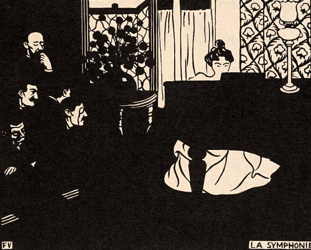 Untitled Woodcut 1908 Limited Edition Print by Felix Vallotton