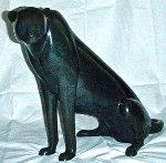 Sitting Cheetah Bronze Sculpture Sculpture - Loet Vanderveen