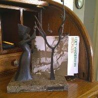 Reaping Bronze Sculpture 1974 (Early) 10 in  Sculpture by Loet Vanderveen - 1