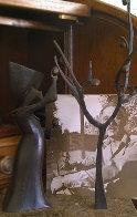 Reaping Bronze Sculpture 1974 (Early) 10 in  Sculpture by Loet Vanderveen - 0