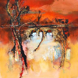 Evening Mood 2018  Original Painting - Hans Van Horck