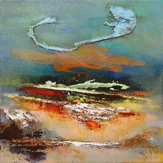 Looking East 2020 31x31 Original Painting - Hans Van Horck
