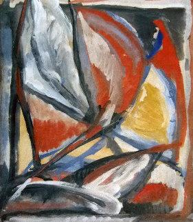 Untitled Painting 31x27 Original Painting - Bram van Velde