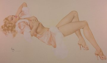 Sleeping Beauty - Legacy Nude #1 1996 Limited Edition Print by Alberto Vargas