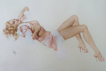 Sleeping Beauty, Legacy Nude #1 Limited Edition Print by Alberto Vargas