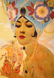 Scheherezade  AP 1978 Limited Edition Print by Alberto Vargas
