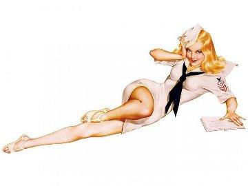 Sailor Girl 1991 Limited Edition Print - Alberto Vargas