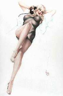 First Love Deluxe Edition 1986 HS Limited Edition Print - Alberto Vargas