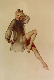 Sleepy Time Gal Deluxe Edition 1997 Has Limited Edition Print by Alberto Vargas